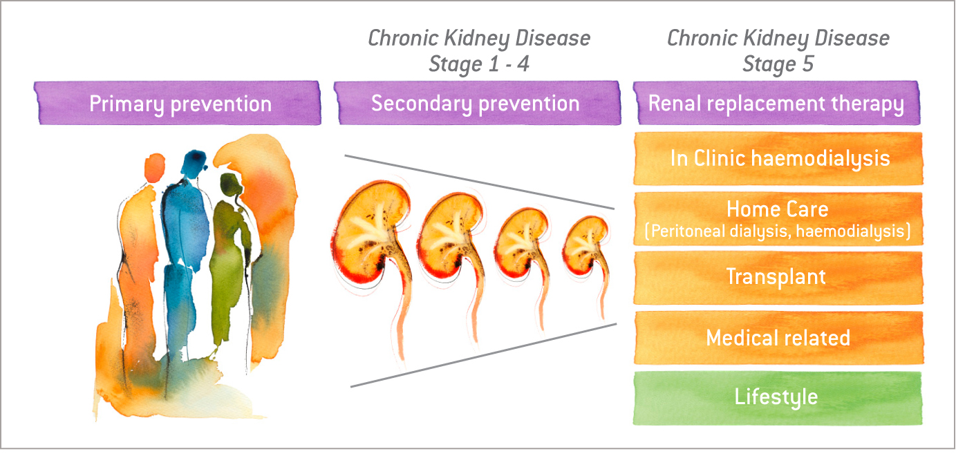Stages of CKD