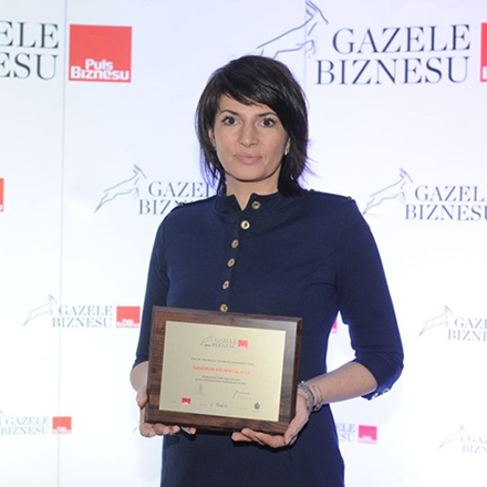 "Diaverum Poland has been awarded in  ""GAZELE BIZNESU 2016"" ranking"