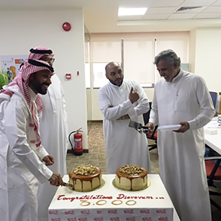 Diaverum Saudi Arabia reached the milestone of 3,000 patients