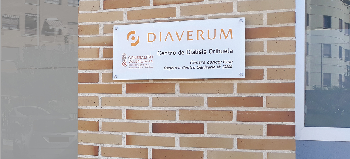 Welcome to Centro de Diálisis Diaverum Orihuela