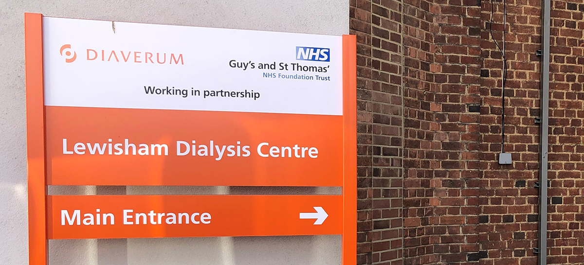 Welcome to our Lewisham Dialysis Centre