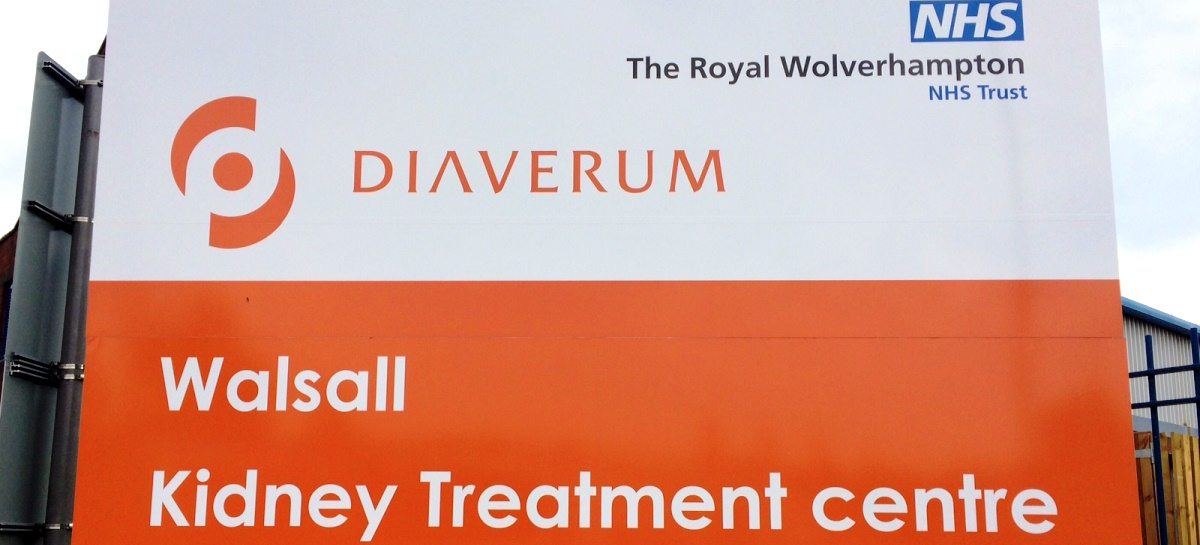 Welcome to Walsall Kidney Treatment Centre