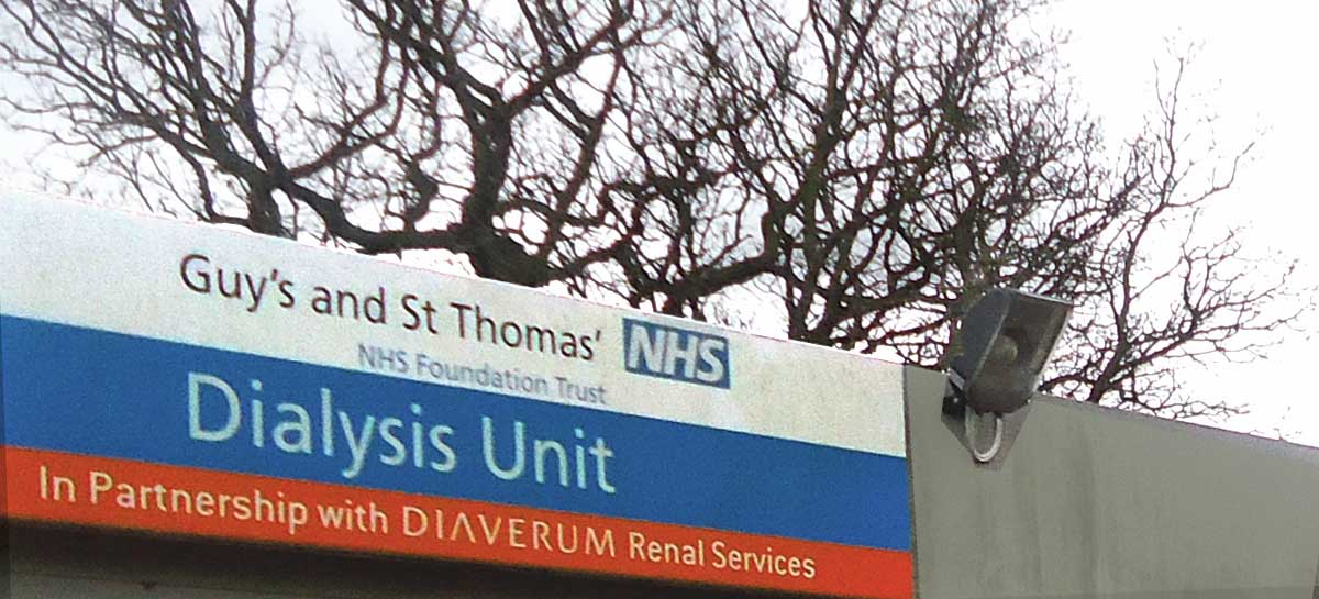 Welcome to Sidcup Dialysis Unit