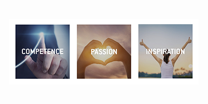 Learn more about our three core values