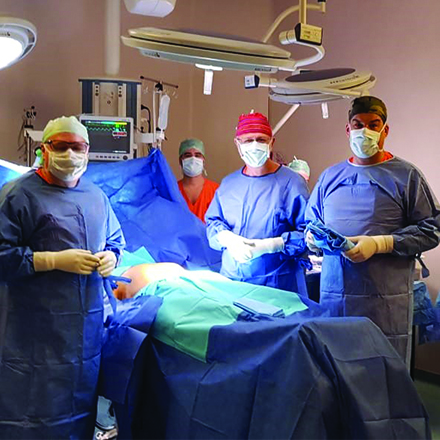 Diaverum Institute for Complexed Transplants performed their, first ever, liver transplant.