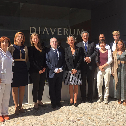Portugal's Swedish Ambassador visits Diaverum